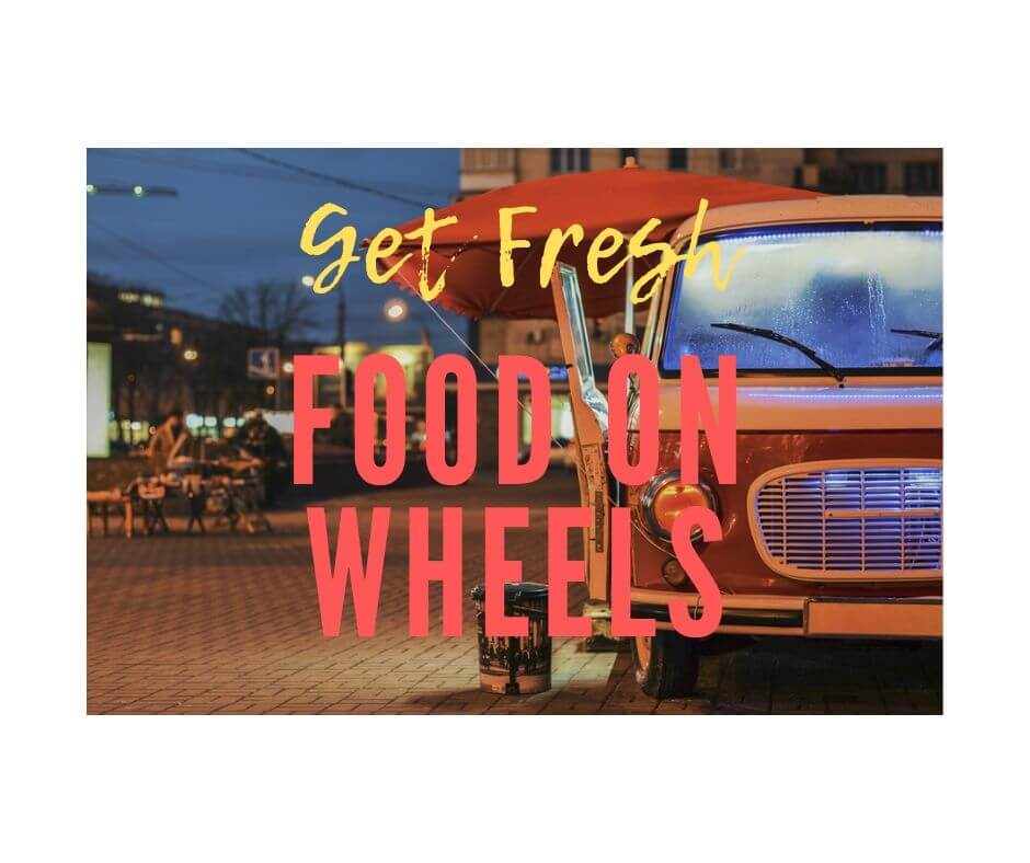 Food on wheel