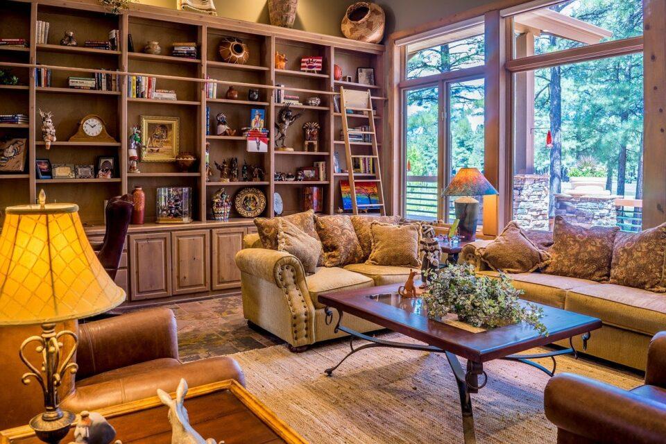 Modern Retro Living Room Ideas