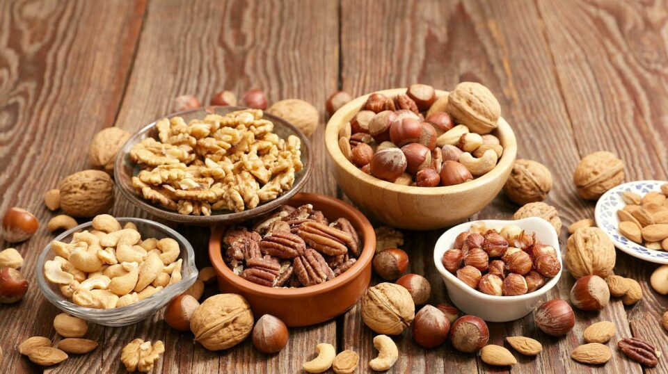 Nuts and seeds